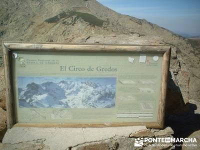 Laguna Grande de Gredos - Sierra de Gredos - Los Barrerones; rutas a pie por madrid